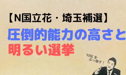 N国,立花孝志,nhkをぶっ壊す,既得権益,メタ認知,インパクト,明るい選挙