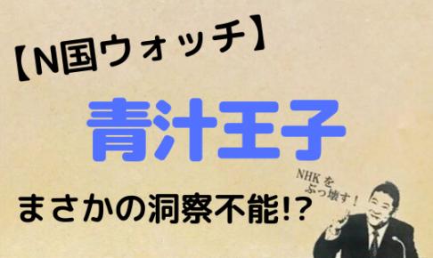 N国,NHKから国民を守る党,NHKをぶっ壊す,立花孝志,青汁王子,三崎優太,既得権益